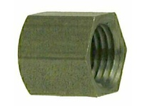MRO 67472 3/8 BLACK STEEL HEX CAP (Package of 10)