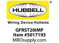 HBL_WDK GFRST20IMP 20A COM SELF TEST GFR IVORY MID SIZE PL