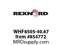 REXNORD WHF8505-40.67 WHF8505-40.67 WHF8505 40.67 INCH WIDE RUBBERTOP M