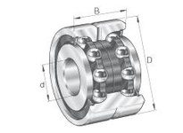 INA ZKLN20522RS Ball screw support bearing