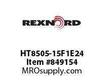 REXNORD HT8505-15F1E24 HT8505-15 F1 T24P N1.375 HT8505 15 INCH WIDE MATTOP CHAIN WI