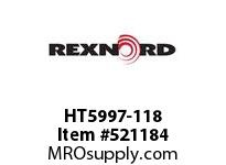 REXNORD HT5997-118 HT5997-118 143226