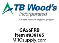 TBWOODS GA55FRB HUB GA5 1/2 ROUGH BORE FLEX