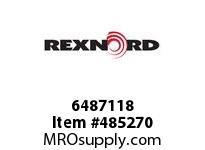 REXNORD 6487118 611-21684-01 5 X15 CEMA C LINKBELT REP