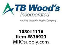 TBWOODS 1080T1116 1080TX1-1/16 G-FLEX HUB