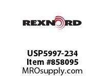 REXNORD USP5997-234 USP5997-234 USP5997 234 INCH WIDE MATTOP CHAIN