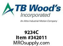 TBWOODS 9234C 9X2 3/4-SD CR PULLEY