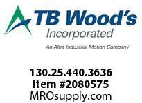 TBWOODS 130.25.440.3636 HUCO TELESHAFT 25 11/16 --1/2