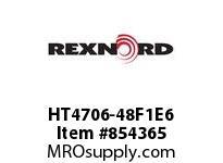 REXNORD HT4706-48F1E6 HT4706-48 F1 T6P HT4706 48 INCH WIDE MATTOP CHAIN WI