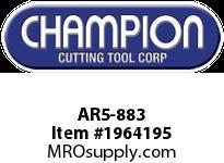 Champion AR5-883 CARB TIP STR TURN TOOL