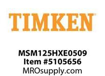 TIMKEN MSM125HXE0509 Split CRB Housed Unit Component