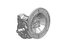 HUBCITY 0270-00195 AL454 28/1 C 56C SPARTAN WORM GEAR DRIVE