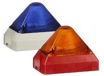 Pfannenberg 21551817055 PY X-M-10 10-60V DC BL RAL7035 Flashing Xenon Strobe Beacon adj. flash rate 10 Joules 10 - 60