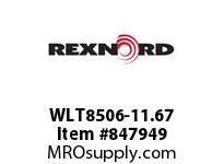 REXNORD WLT8506-11.67 WLT8506-11.66 WLT8506 11.67 INCH WIDE MATTOP CHAI