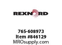 REXNORD 765-608973 CHAIN GUIDE PROFILE 57MM GUIDE RAIL PROFILE P765-SS-2-WH-3M