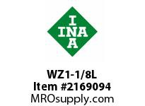 INA WZ1-1/8L Linear shaft precision