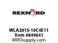 REXNORD WLA2015-10C4E11 WLA2015-10 C4 T11P N2