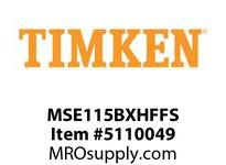 TIMKEN MSE115BXHFFS Split CRB Housed Unit Assembly