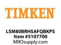 TIMKEN LSM80BRHSAFQBKPS Split CRB Housed Unit Assembly