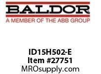 BALDOR ID15H502-E AC INVERTER 575V 15H 1/2/3HP 1 DYN TRANS