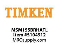 TIMKEN MSM155BRHATL Split CRB Housed Unit Assembly