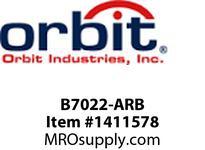 Orbit B7022-ARB 12V BRASS MINI STEP LIGHT JC 20W MAX. LOUVER -ARB