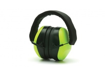 Pyramex PM8031 Hi-Vis Lime Ear Muff - NRR 26dB - Individually packaged