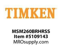 TIMKEN MSM260BRHRSS Split CRB Housed Unit Assembly