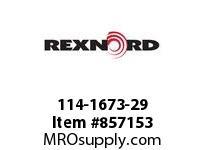 REXNORD 114-1673-29 CT LPC279K325 R30 N-R SP CORNER TRACK LPC279K3.25 30 INCH CE