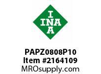 INA PAPZ0808P10 Plain bearing