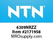 NTN 6309NRZZ Medium Size Ball Bearings