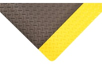 NoTrax 490S0023YB 490 DURA TRAX 2X3 Yellow/Black Dura Trax is the latest high performance anti-fatigue floor mat providing both comfort and durability for todays toughest industrial environments. Dura Trax combines a rubber top surface wit