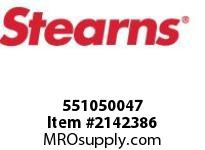 STEARNS 551050047 ARM & CAGE ASSY 1204E-S B 8034023