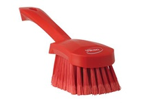 REMCO 41944 Vikan Scrub Brush Gong Brush- Soft- Red (replaces 419
