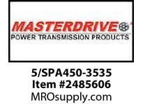 MasterDrive 5/SPA450-3535 5 GROOVE SPA SHEAVE