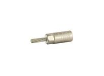 NSI PT2 BI METALLIC PIN TERMINAL 2 AWG WIRE SIZE #4 TIN PLATED STRANDED COOPER PIN
