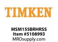 TIMKEN MSM155BRHRSS Split CRB Housed Unit Assembly
