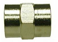 MRO 28894 1/8F X 1/8F BSPP N-PLTD COUPLING