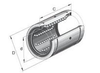 INA KBZ04 Linear precision ball bearing