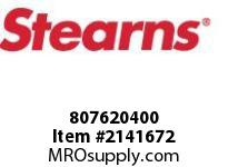 STEARNS 807620400 HOLDING PL/REL ROD STOP 8021970