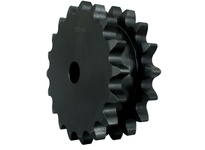 DS100A17 A-Plate Double Single Roller Chain Sprocket