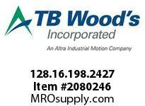 TBWOODS 128.16.198.2427 HUCO TELESHAFT 16 3/16 --5/16