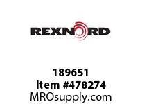 REXNORD 189651 789004550 WRAPFLEX 40R HCB 50MM F7