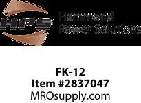 HPS FK-12 FUSE KIT DUAL MIDGET PRI Machine Tool Encapsulated Control Transformers