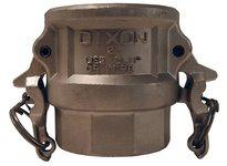 """DIXON RD125BL 1 1/4"""" SS CPLR X FEM NPT BOSS-LOCK"""