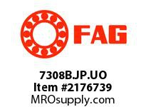 FAG 7308B.JP.UO SINGLE ROW ANGULAR CONTACT BALL BEA