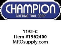 Champion 115T-C TITANIUM COATED BRUT DRILL SETS