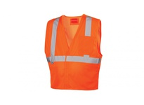Pyramex RVHL2520BRDXL Hi-Vis Orange with 5 point DRing - Size Extra Large