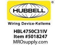 HBL_WDK HBL4750C31IV RACEWAY 31^ COVER HBL4750 SER IV