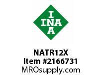 INA NATR12X Yoke type track roller
